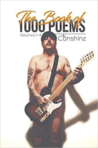 book cover showing a naked man with a guitar over his privates.