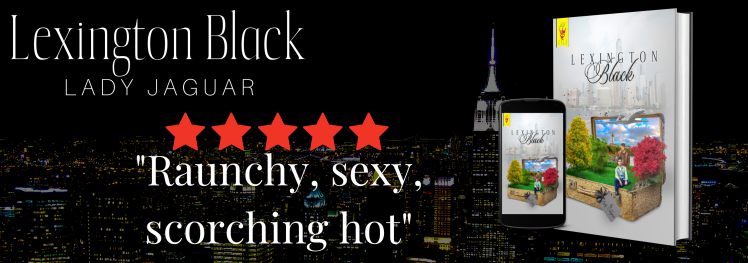 Lexington Black Book cover with a night-time New York backdrop.