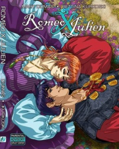 Book cover of Romeo and Julien, a graphic novel.